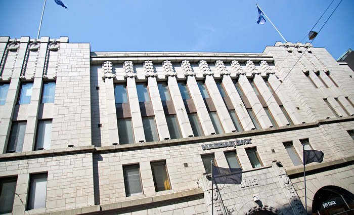 The Helsinki Stock Exchange Building