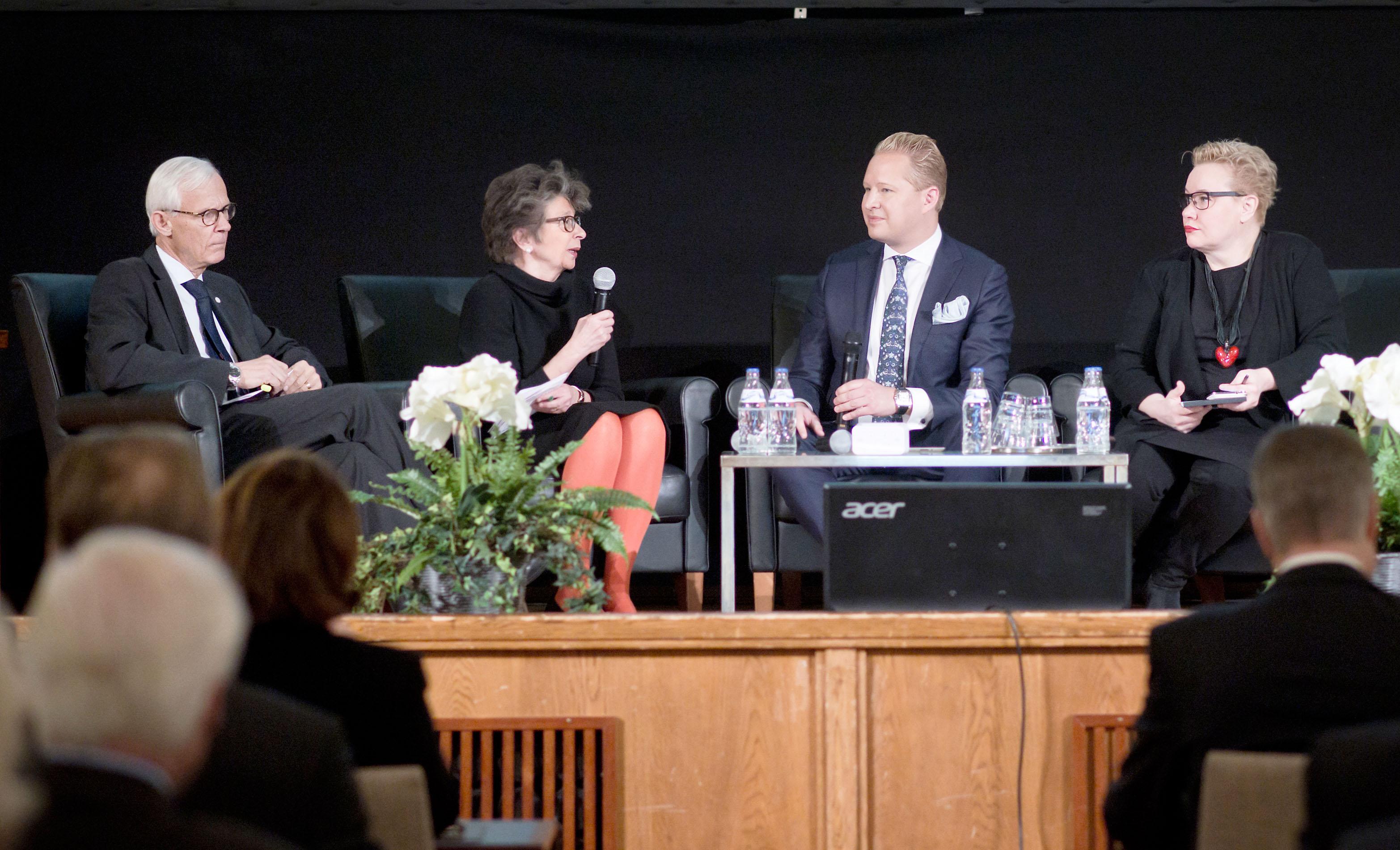 22.1.2015, Helsinki, Pörssisäätiö, Chair of the year seminaari