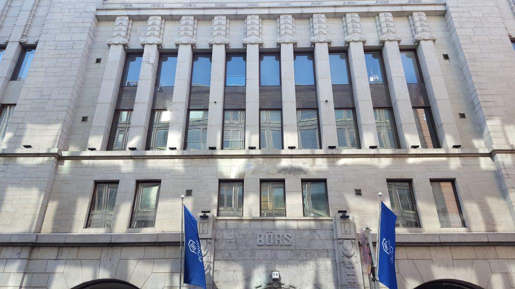 Vuosina 2012–2016 Helsingin pörssin päämarkkinalle ja First North -markkinapaikalle listautui yhteensä 28 uutta yhtiötä. Helsingin pörssi sijaitsee Pörssitalossa.