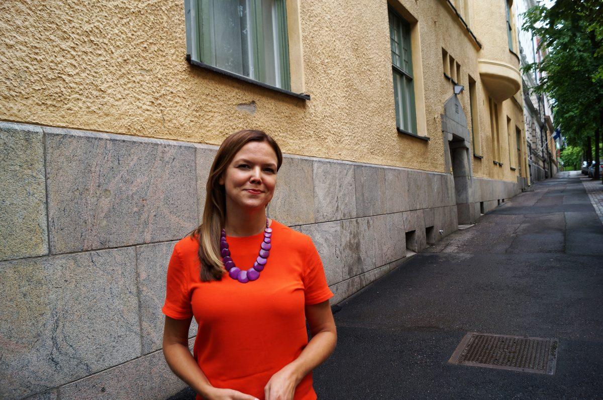 Vastuullisen sijoittamisen asiantuntija Magdalena Lönnroth