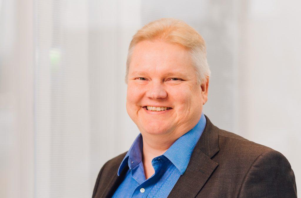 Solteqin toimitusjohtaja Olli Väätäinen