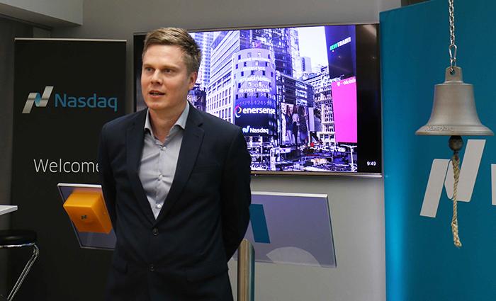 Jussi Holopainen, Enersensen toimitusjohtaja